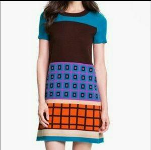 Kate Spade medium block Freyda wool cashmere dress